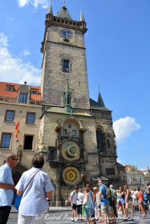 The Astronomical Clock @ the square
