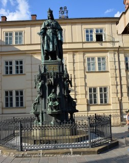 Statue of King Charles