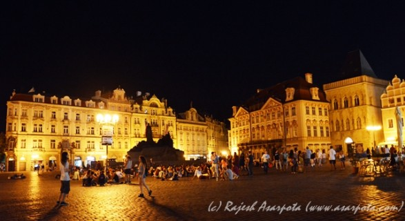The Old Town Square @ Night