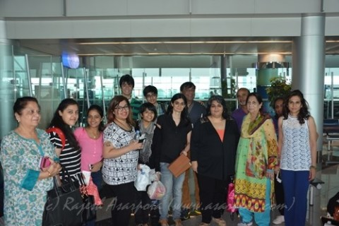 The Group all set to Fly..